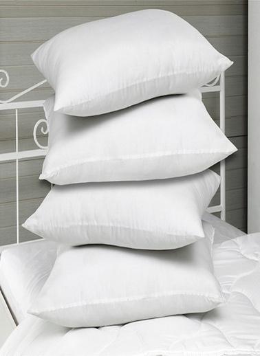 Komfort Home Dolgulu Silikonize Yastık 600 gr 50x70 CM (1 Adet) Beyaz